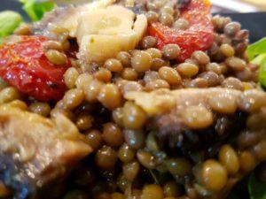Insalata di lenticchie