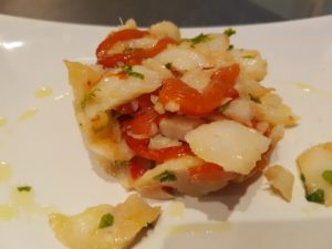 Insalata di baccalà e peperoni